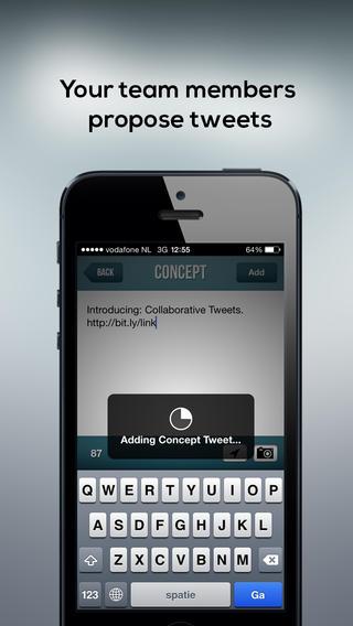 Craft for Twitter concept tweet toevoegen
