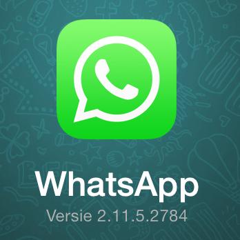 WhatsApp voor iOS 7 krijgt nieuw icoon