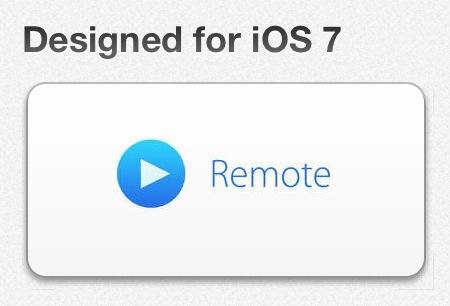 iOS 7 remote-app Apple