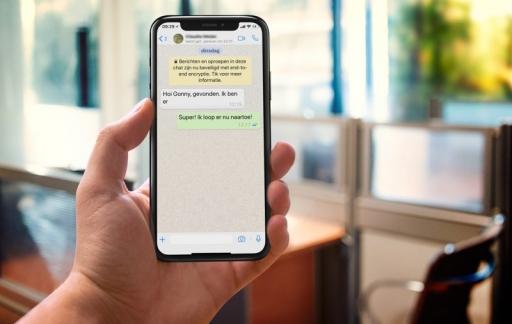 WhatsApp tekstgrootte