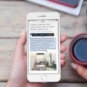 Tekst op je iPhone-scherm laten voorlezen