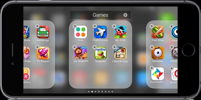 Apps opruimen