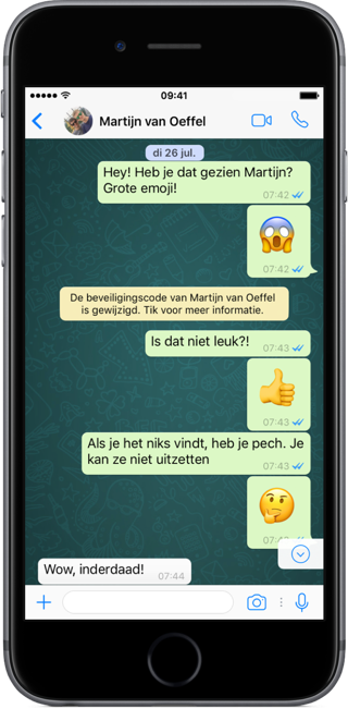 Whatsapp Samsung Naar Iphone