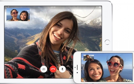 FaceTime voor de iPhone en iPad.