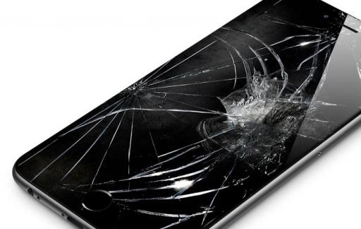 iPhone 6 met kapot scherm