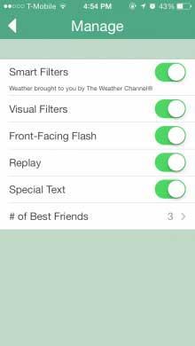 snapchat-extra-opties