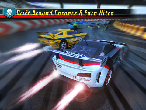 ICS Ridge Racer Slipstream iPad
