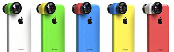 Olloclip iPhone 5c kleuren