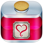 Love Potion app-icoon iPhone