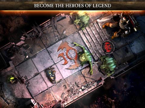 ICS Warhammer Quest iPad iPhone iOS 6