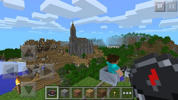ICS Minecraft Pocket Edition groot screenshot