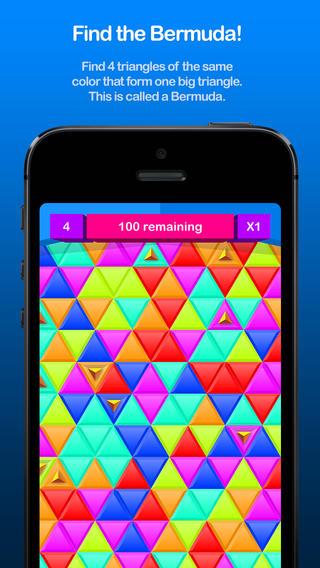 ICS Bermuda iPhone highscore puzzlegame