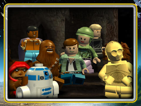 Lego Star Wars bekende personages iPhone