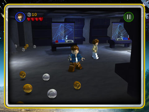 Lego Star Wars iPad met Leia