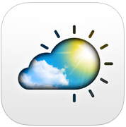 Live Weer Reloaded Apalon Apps iOS 7 iPhone iPad