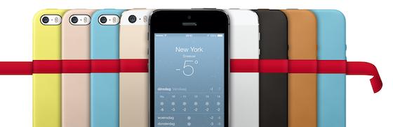 iPhone 5s reclameplaat Apple