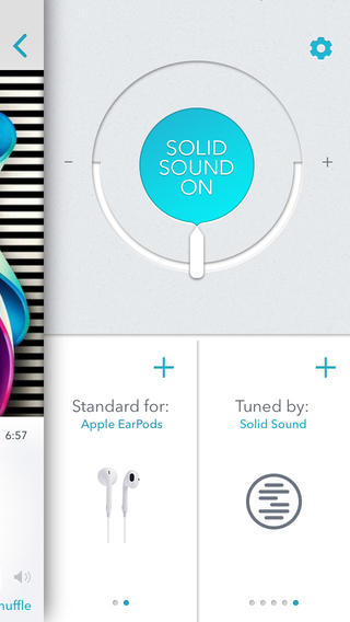 Solid Sound optimalisatie EarPods