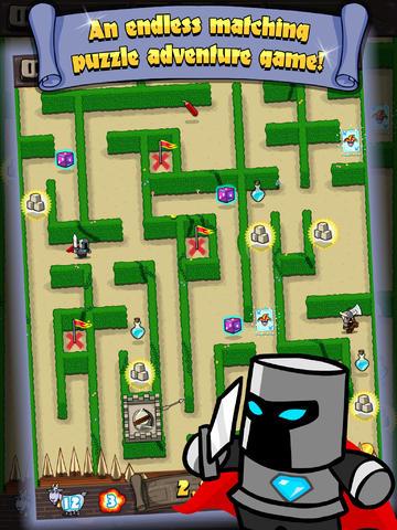 ICS Maze Crusade iPad iPhone