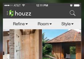 Houzz interieurdesign woning iPhone iPad app