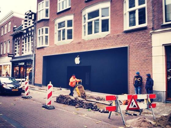 Apple Store Haarlem voorkant 2