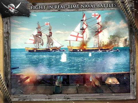 Assassin's Creed Pirates iOS twee schepen