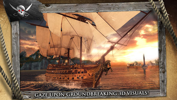 Assassin's Creed Pirates boot view