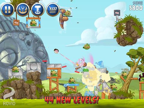 ICS Angry Birds Star Wars II update