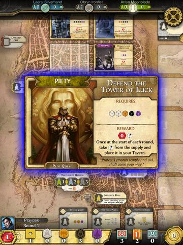 ICS Lords of Waterdeep iPad iPhone