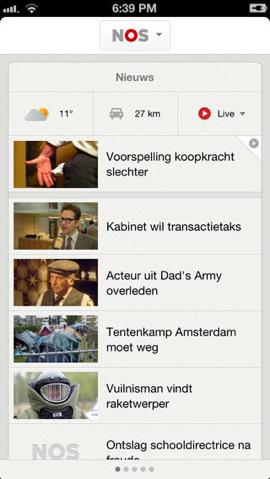 nos nieuws app