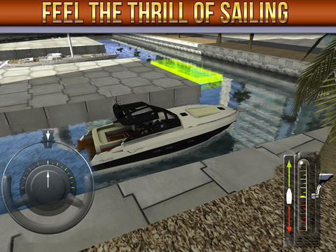 ICS 3D Boat Parking Simulator iPad