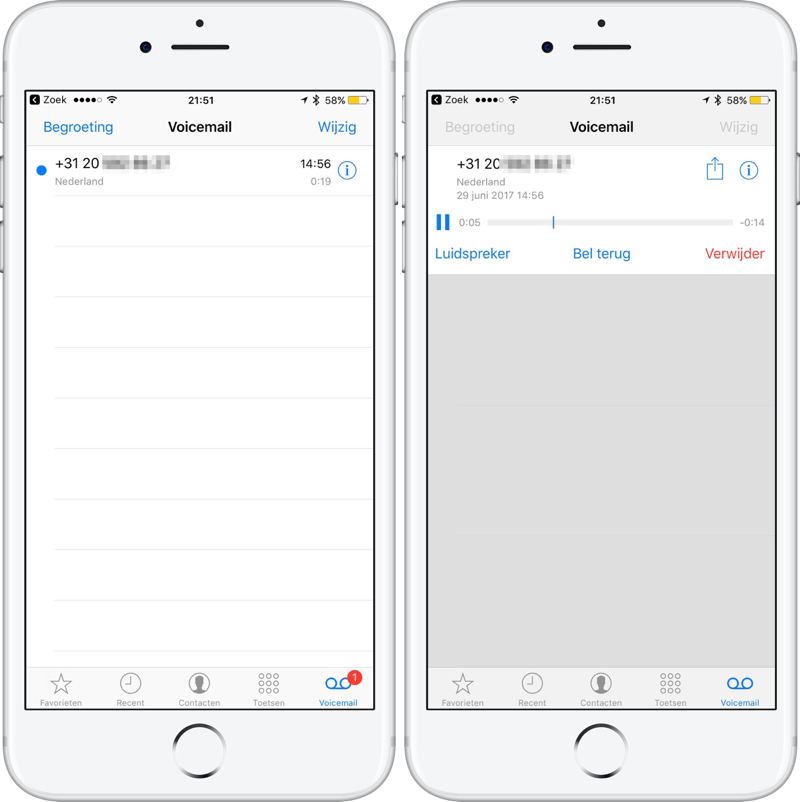 Set up, visual, voicemail on your iPhone - Apple Support