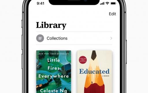 Apple Books in iOS 12