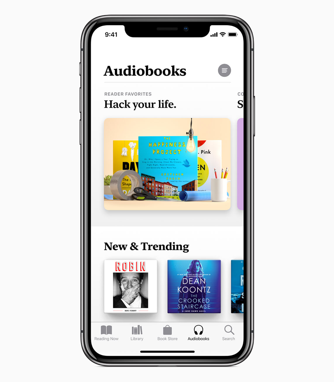 Audiobooks in Apple Books