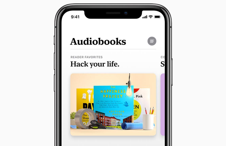 Apple Audiobooks Store
