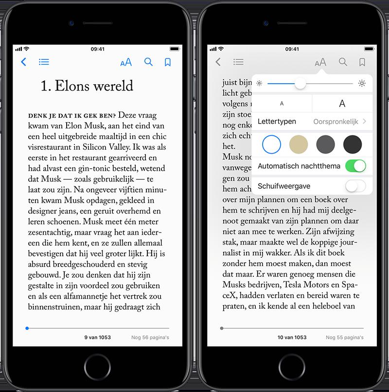 Apple Books lezen