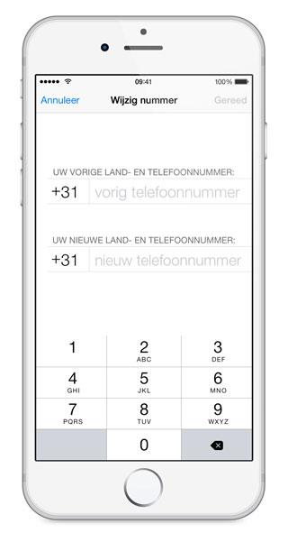 nieuwe telefoon whatsapp gesprekken overzetten iphone