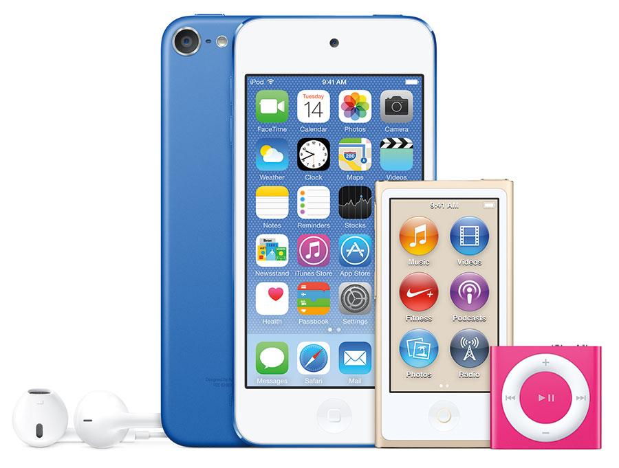 ipod-familie-nieuwe-kleuren