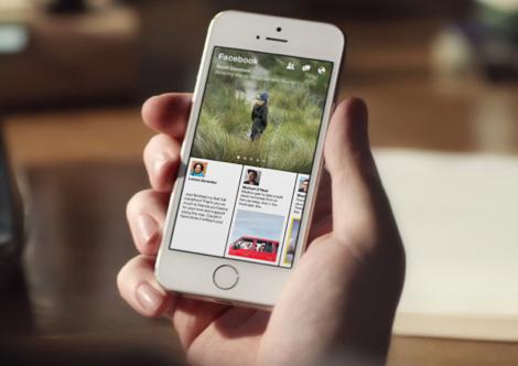 Facebook Paper iPhone 3 februari