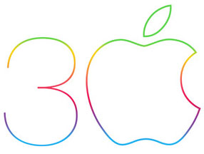 apple-logo-30-jaar-mac