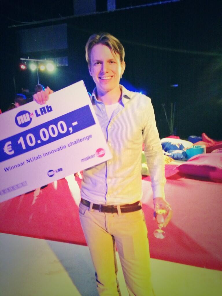 NuLab winnaar Yvo Schaap