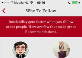 Readability offline artikelen lezen mensen volgen