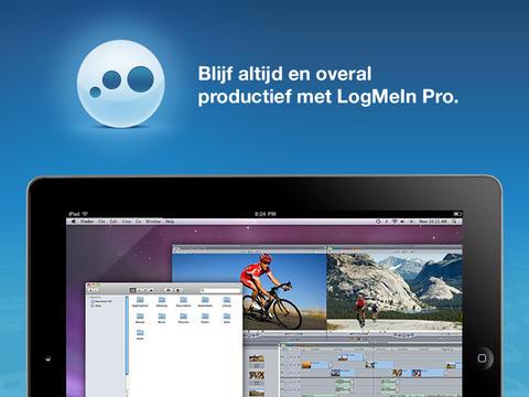 LogMeIn iPad-scherm iOS 7