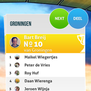 Predict-A-Ball voetbalstand iPhone