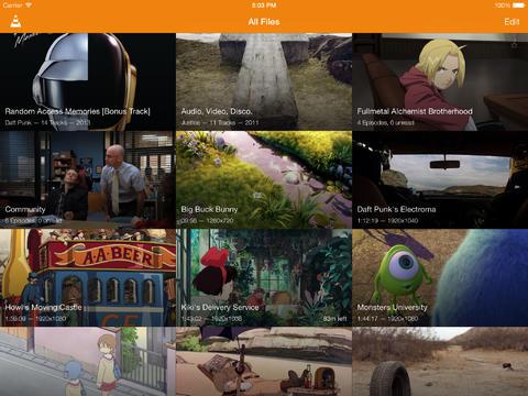 VLC for iOS mediaspeler iPad iPhone