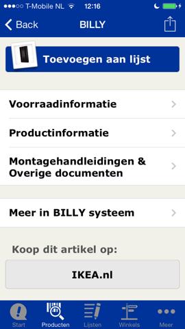 IKEA iPhone kopen op webshop