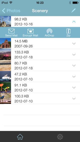 WinZip foto's in Dropbox
