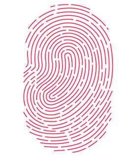 Touch ID vingerafdrukscanner