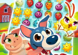 Farm Heroes Saga match 3 King.com