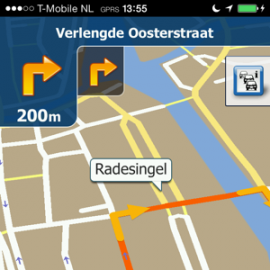 Beste navigatie-apps iPhone iGo Primo Europe
