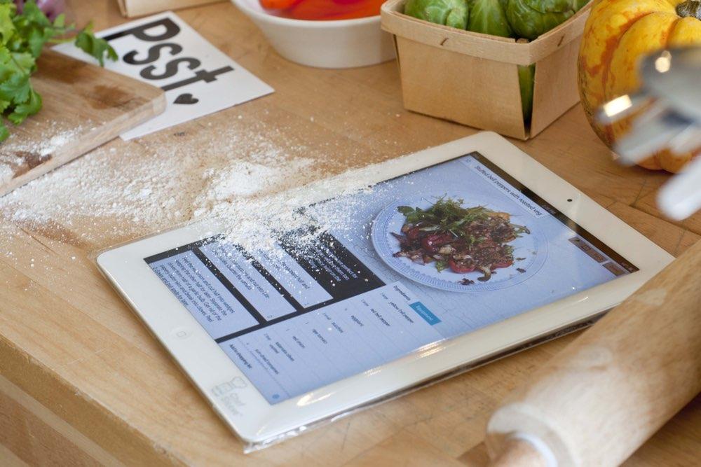 iPad keukenhulp
